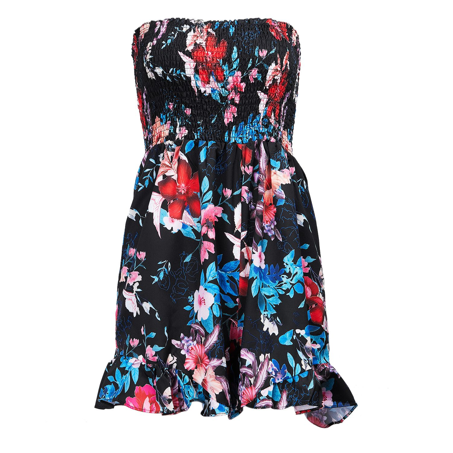 Summer New Sexy Print Strapless Jumpsuit Lady Fashion ...