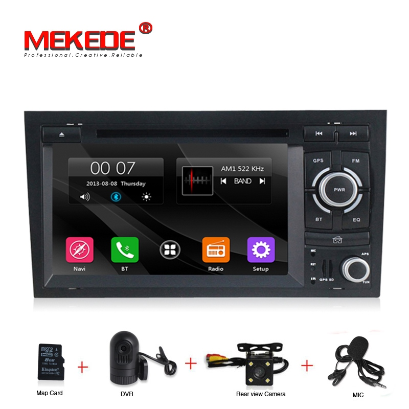 free shipping HD 2 Din Capacitive screen Car DVD for audi A4 2002 2008 S4 RS4 8E 8F B9 Car radio Gps Navigation stereo headunit-in Car Multimedia Player from Automobiles & Motorcycles