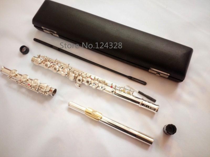 Подлинная Новый Японии флейта YFL 371 музыкальный инструмент 17 отверстие E открытого ключа музыка с основной флейта реальное изображение прои