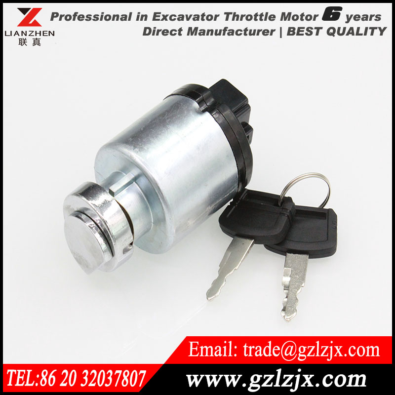 ФОТО Engine parts racing ignition switch for Hitachi  excavator engine spare parts