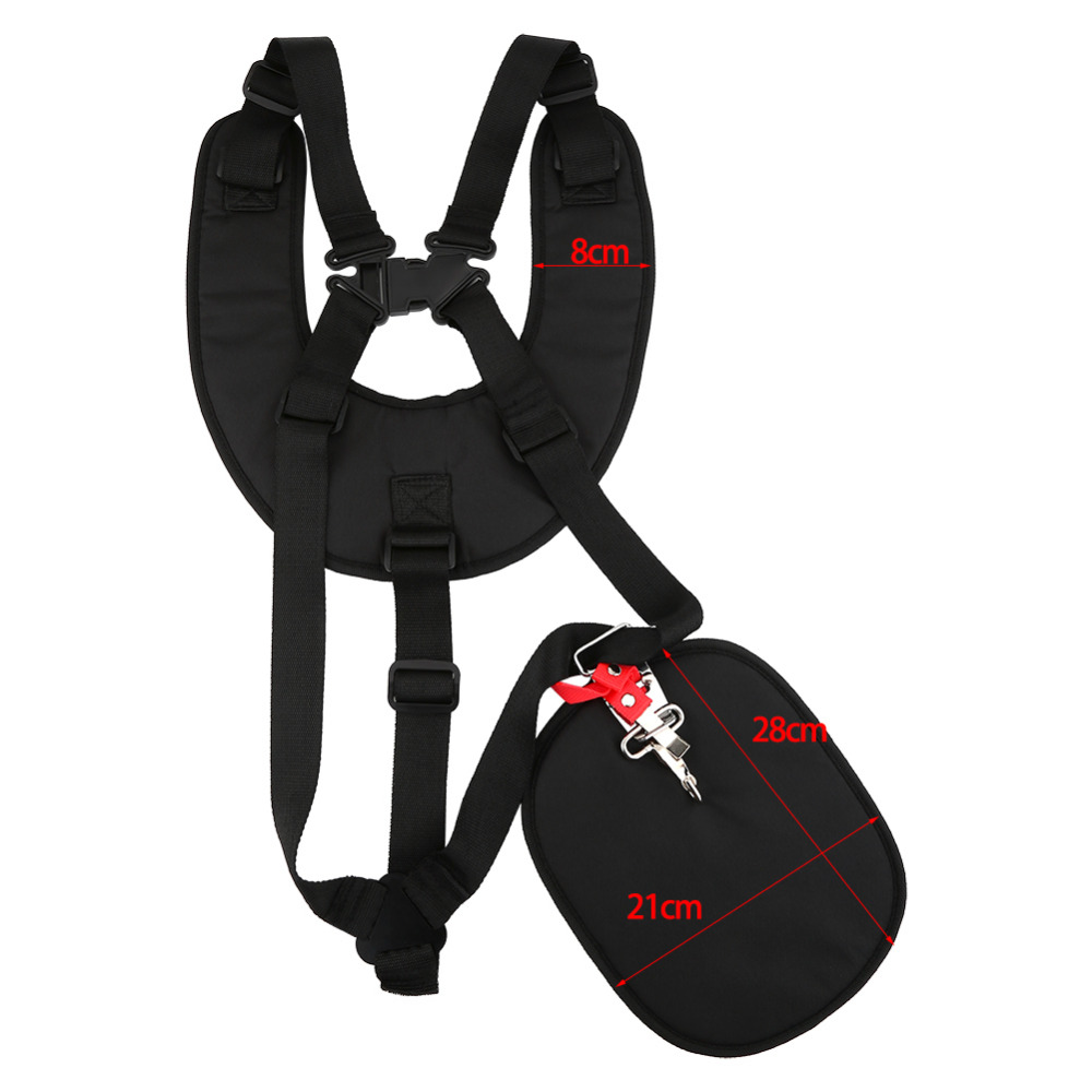 Heavy Duty Pro Padded Strimmer Brushcutter Double Harness Suits Echo Husqvarna