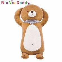 Фотография Niuniu Daddy Bear Belly Super Soft Bear Stuffed Bear Toy Plush Cute Animal Embrace Bear Doll Kids Toys Christmas Gifts 75cm