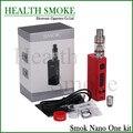 Последним из натуральной смок Nano один комплект электронной сигареты температурный контроль 18650 мод комплект против Kangertech Topbox мини Dripbox стартовый комплект