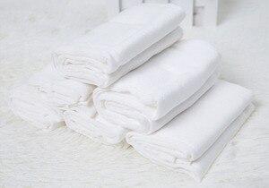 Image 5 - [Sigzagor] 6 Prefold Burp Cloths Diapers Nappies Inserts 2x3x2 Burp Cloth 100% Cotton Gauze Muslin 49x35cm 19.3x13.8in
