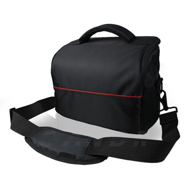 DSLR Camera Shoulder Lens Bag For Canon EOS 1100D 700D 650D 600D 550D Nikon P900 D7200 D40 D5300 Sony NEX A6000 A6300 RX100 30
