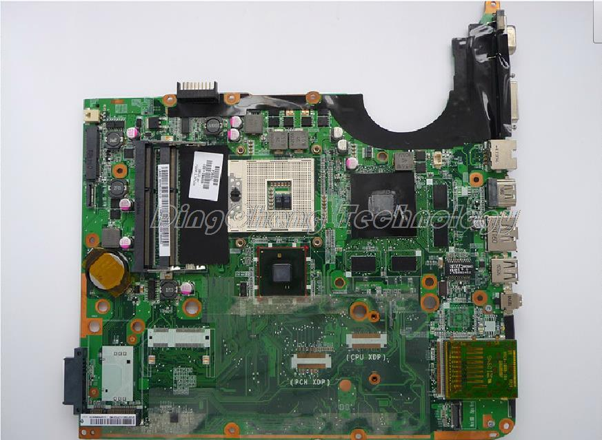 SHELI laptop Motherboard For hp DV7 600863-001 DA0UP6MB6F0 non-integrated graphics card 100% Tested laptop palmrest