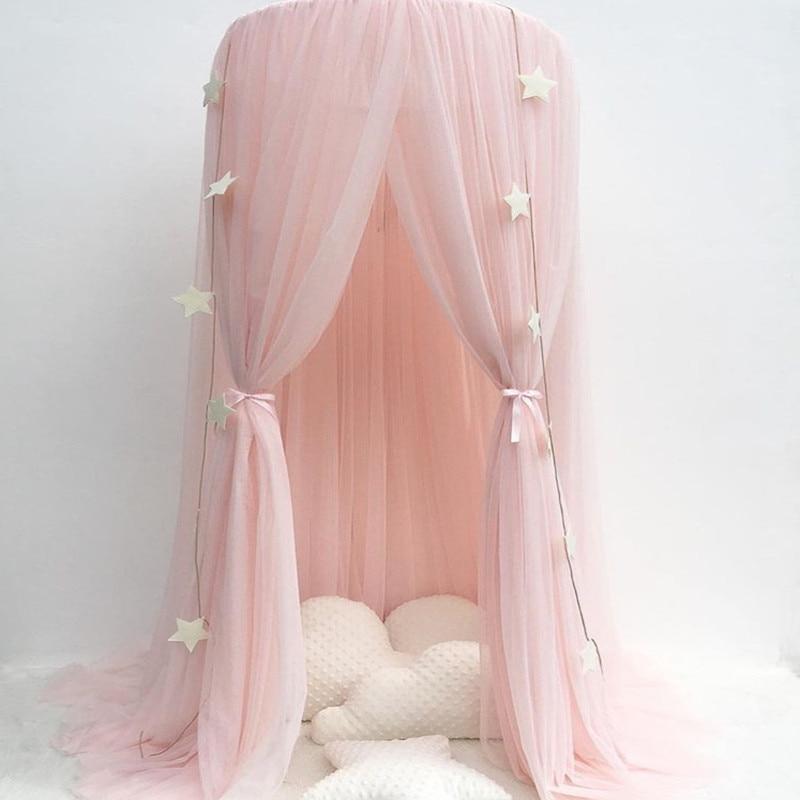 Enfants de chambre dôme princesse rêve lit rideau enfants chambre un s'engage filets jeu maison décoration net fil