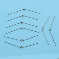 Оцинкованная пружина кручения мм 0,6 мм диаметр линии наружный мм диаметр 3,9 мм вращающаяся нестандартная пружина 20 шт