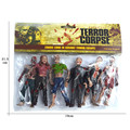 6 pçs/set Resident Evil Biohazard Executioner Toy Figuras de Ação Neca Horror Brinquedos Móveis conjuntas