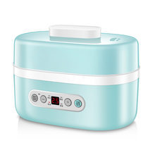 220V Multi-function Electric Rice Cooker lunch box Insulation Heating Personal Cooking Appliances Ceramic Liner(China)