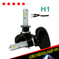2017 New Arrival H1 Led Headlight Bulb Super Bright 8000LM 12V CANBUS Tailor Made Chip DRL Automobile Taxi Fog Light Headlamp 2x