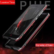 Ultra Mince Deux-tone Couleurs Cas de Téléphone pour ZTE nubia Z17 mini Couverture de Haute Qualité En Aluminium En Métal Cadre Cas antichoc Protection