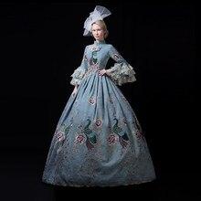 Бальное платье в стиле барокко с рококо для свадебной вечеринки