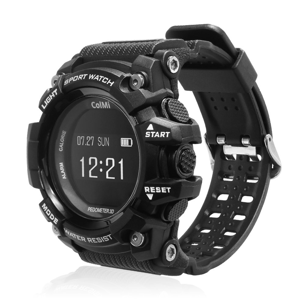 Heart-Rate-Monitor Smart-Wristwatch Android Waterproof T1 Display for Phone Call-Reminder