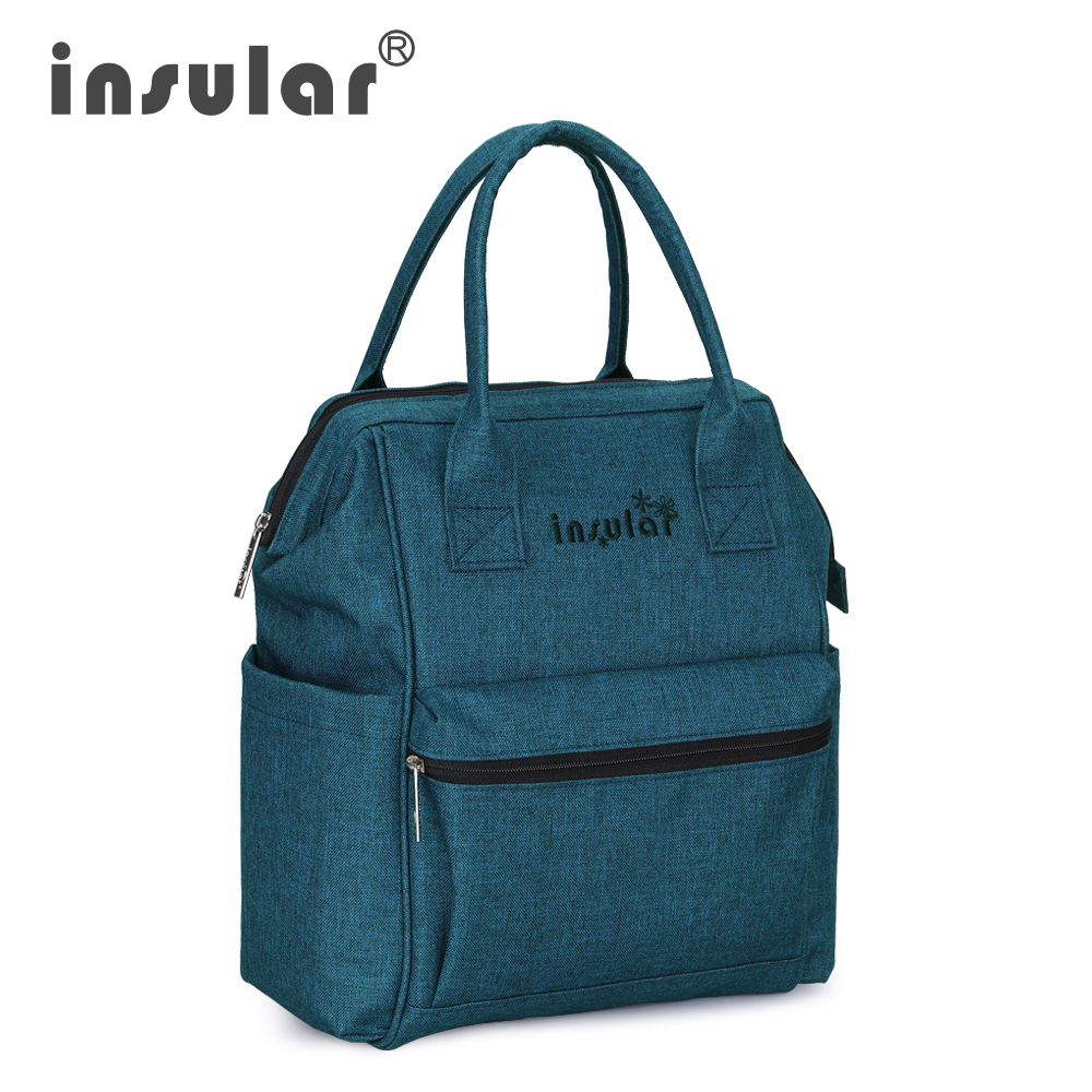 Insular Diaper Bag Baby Wet Nappy Backpack Maternity Mother Stroller Bags Mummy Maternity Nappy Brand Baby Travel in Diaper Bags from Mother Kids