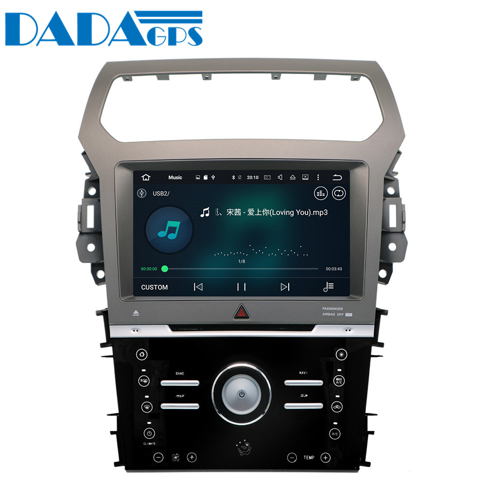 9 Android 8 0 2 32GB Car DVD Player GPS Navigation For Ford Explorer 2011 2012