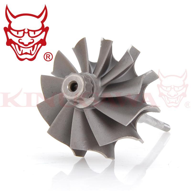 Kinugawa Turbo Turbine Wheel for Mitsubishi TD04 STD / 3000GT Pajero L200 w/ 12 Blades billet turbo compressor wheel mitsu ishi l200 4dr6t 2 5l td04 7b 31 8 49 mm 405 9901d 412