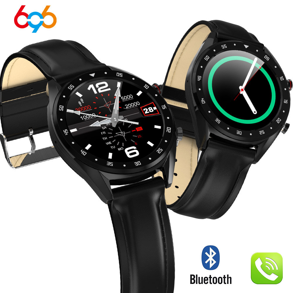 696 L7 BTcall Smart Watch ECG+PPG Heart rate Blood Pressure Monitor IP68 waterpoof Pedometer Sports Fitness Bracelet Men PK N58696 L7 BTcall Smart Watch ECG+PPG Heart rate Blood Pressure Monitor IP68 waterpoof Pedometer Sports Fitness Bracelet Men PK N58