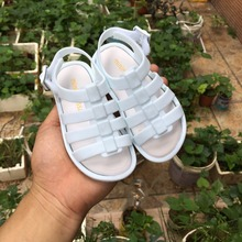 Mini Melissa 2019 Children Jelly Shoes Roman Girls Boys Sandals Hollow Baby Non-slip High Quality
