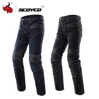 SCOYCO Motorcycle Jeans Motorcycle Trousers Men's Off Road Racing Pants Casual Pants Motorbike Jeans With CE Kneepad S XXXL