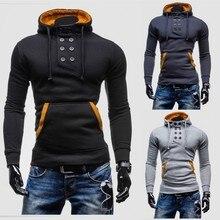 2016 mode herren Fleece Hoodies Männer Jacke Trainingsanzüge Pullover Anzug Mens Hoodies Und Sweatshirts Assassins Creed, 1401