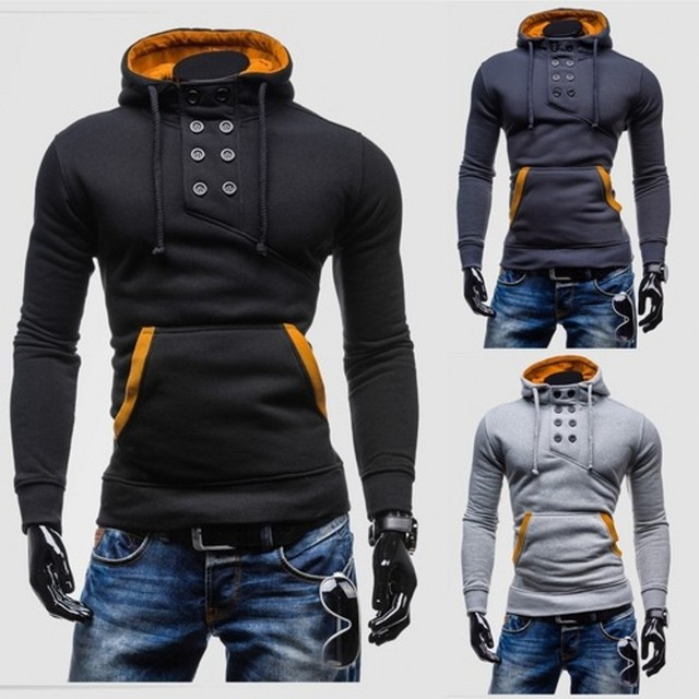 2016 Fashion Men's Fleece Hoodies Men Jacket Tracksuits Pullover Suit Mens Hoodies And Sweatshirts Assassins Creed,1401