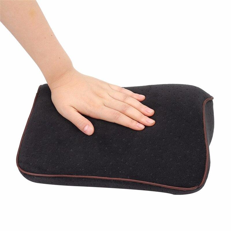 Car Lumbar Cotton Headrest Neck Pillow To Comfort Lower Back Pain 1