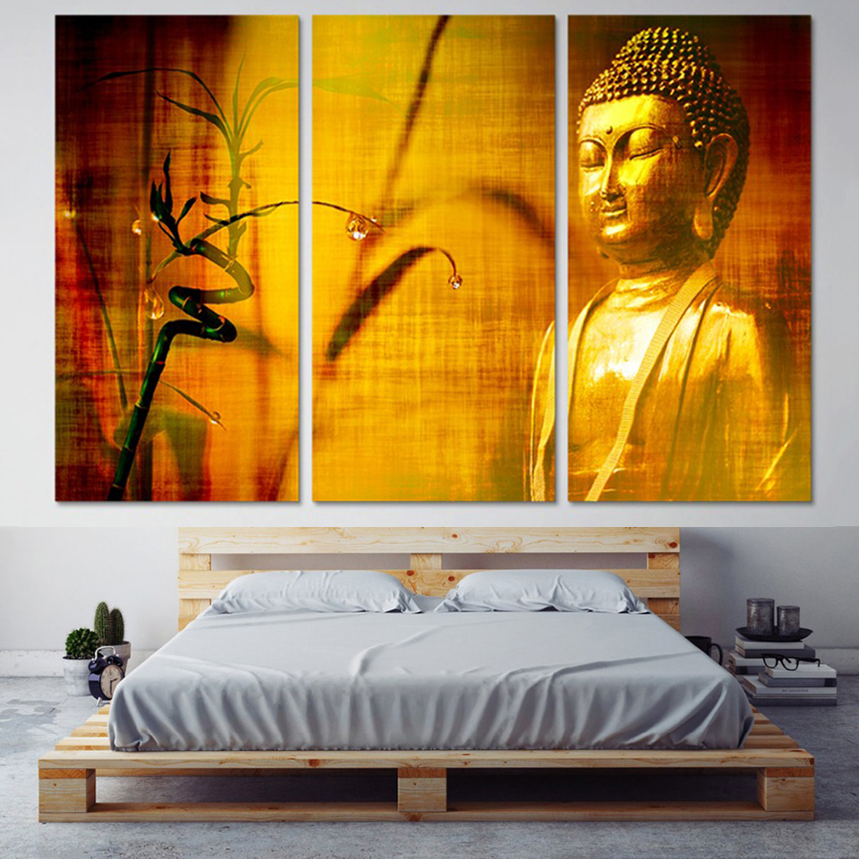 Buy yellow buddha painting and get free shipping on AliExpress.com