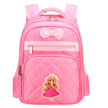 Kids School Bags for Girls Orthopedic Waterproof Backpack Bookbags Children Princess Primary Escolar Satchel Mochila Infantil children school bags for girls monster high butterfly eva folded orthopedic backpack primary bookbags school backpacks mochila