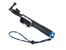 Handheld 39inch Selfie Stick Monopod For Gopro Hero 5 four three Session Digicam With WIFI Remoter Clip Go Professional Equipment