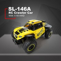 Christmas Flytec SL 146A1/18 Scale 2.4Ghz 4WD 30km/h High Speed RC Crawler Climber Buggy Off Road Rock RC Remote Control Car RTR