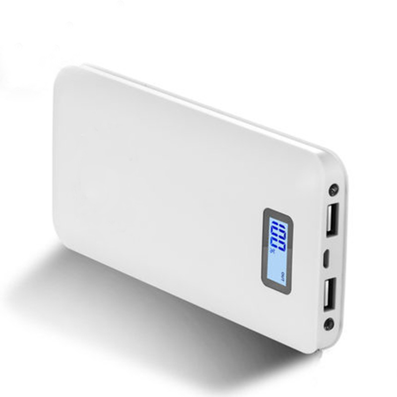 Banco do Poder Portátil de Bateria Externa para Samsung Dual USB Power Bank 20000 MAH Mobile Phone Powerbank Carregador Iphone Xiaomi