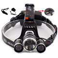 5000 Lumens Headlamp Cree T6 Led Head Light Lamp USB Port Outdoor Frontal Flashlight with Charger For Fishing Hunting Cycling