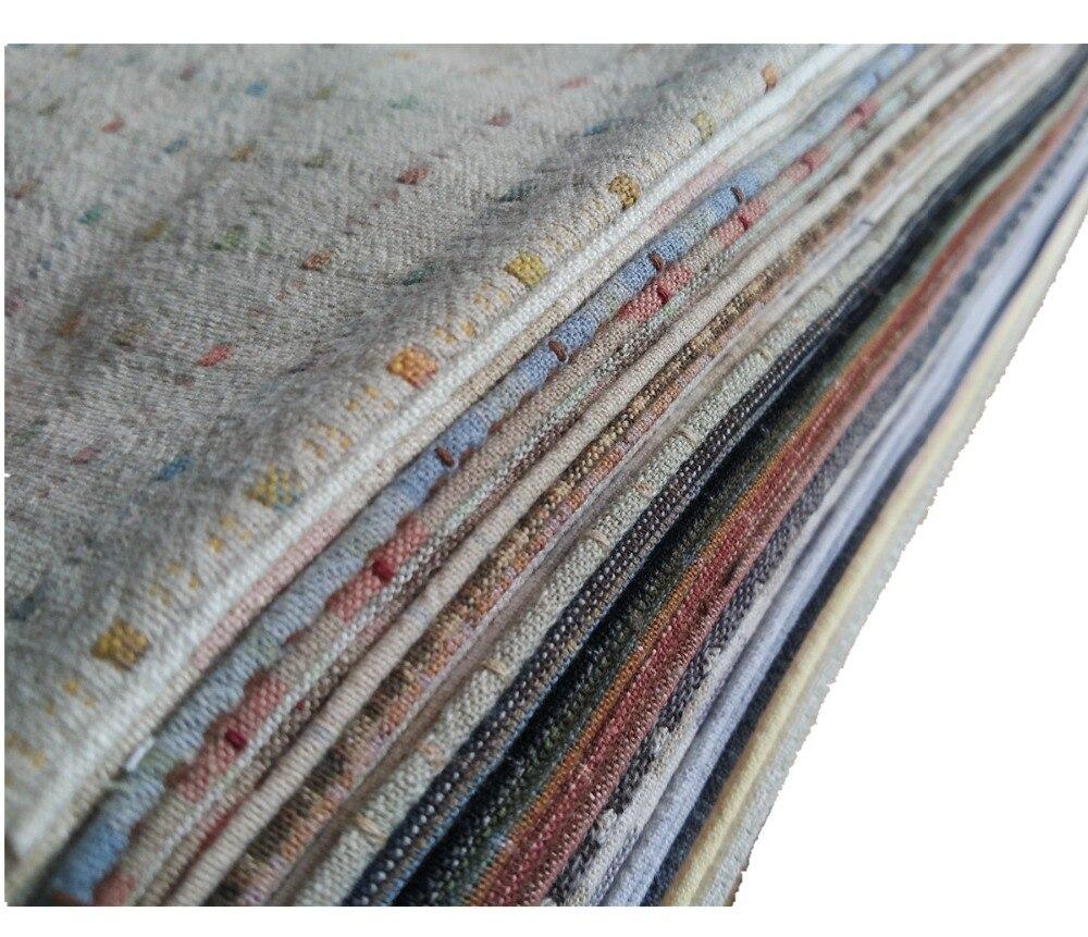 Ручная работа хлопчатобумажная ткань DIY Лоскутная Ткань стеганая ткань 50 цветов 1/16 метров каждого цвета