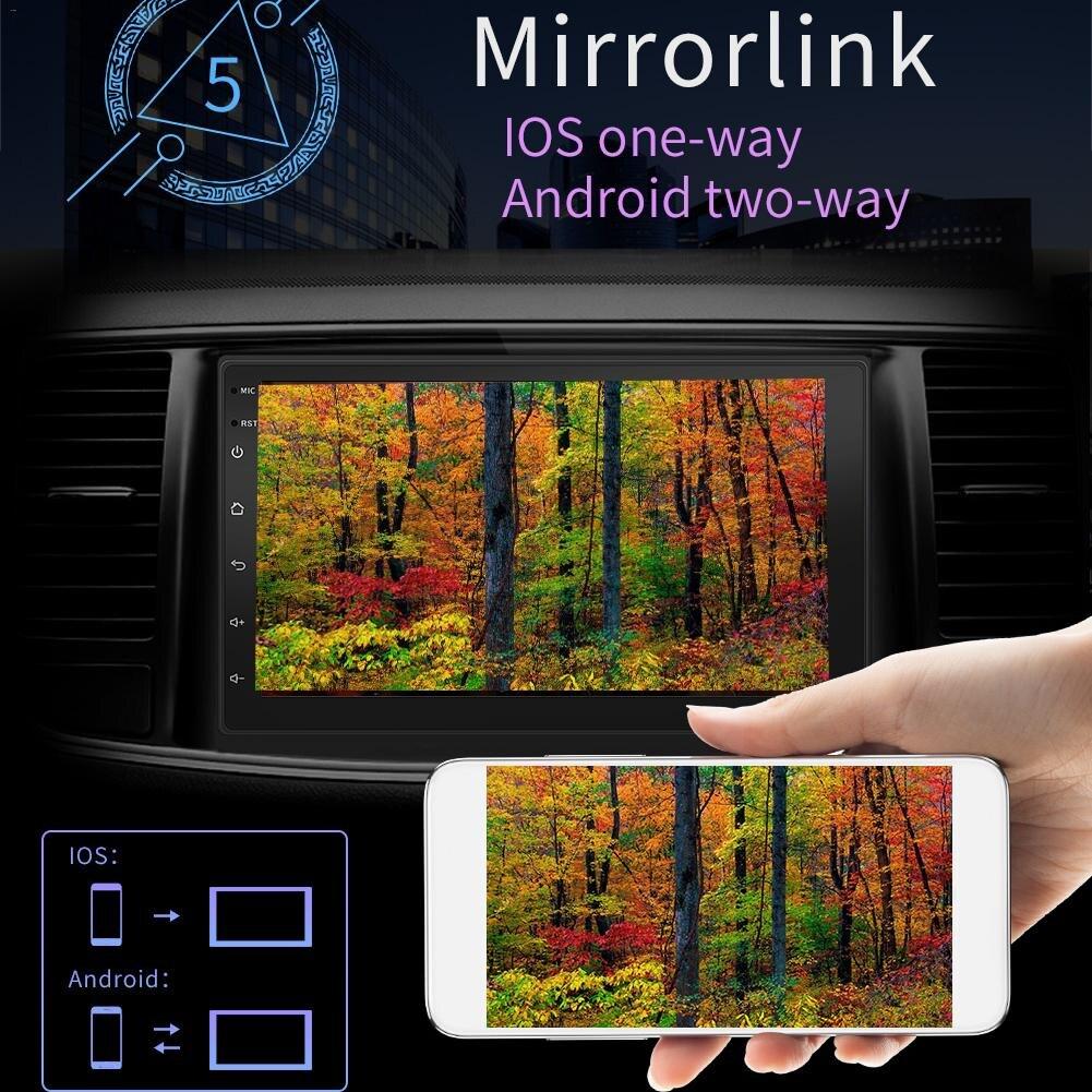 2 Din Авто-радио Android 8,1 Обратный Cam HD мультимедиа для volkswagen Сенсорный экран Bluetooth MP5 автомобиля двойной слитка Универсальный