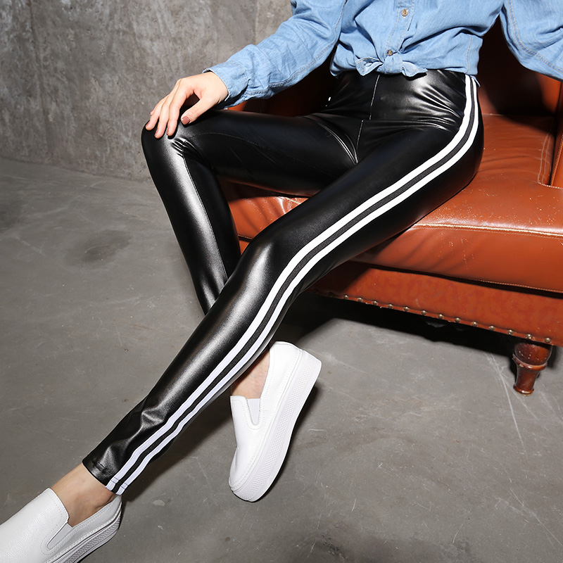 Fashion Womens Leggings Sexy Casual Cashmere Leather Winter Leg Warmer Leggins Pants Trousers Womans Leggings