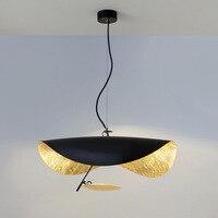 Modern Nordic Pendant Lights Flying Saucer Hat Art hanging pendant light Living Room Restaurant Kitchen lighting Light fixtures