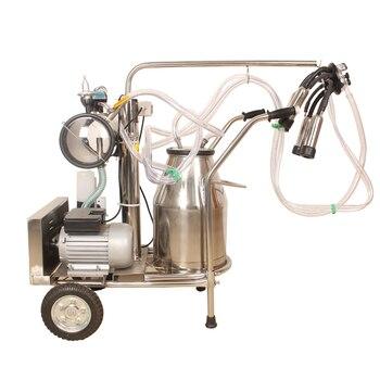 Tragbare Vakuumpumpe | Melken Maschine Vakuum Pumpe Tragbare Melken Maschine Mit Einzel-/Doppel Eimer