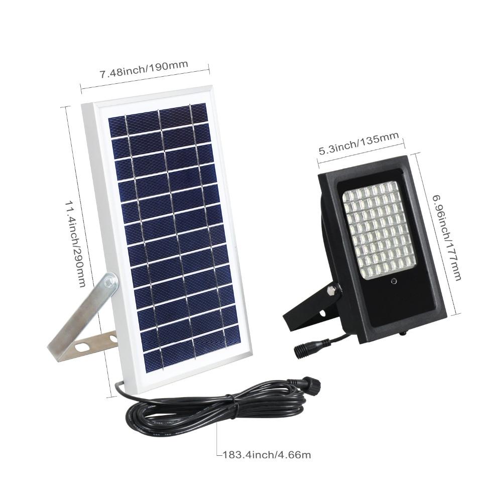 High Quality solar flood light