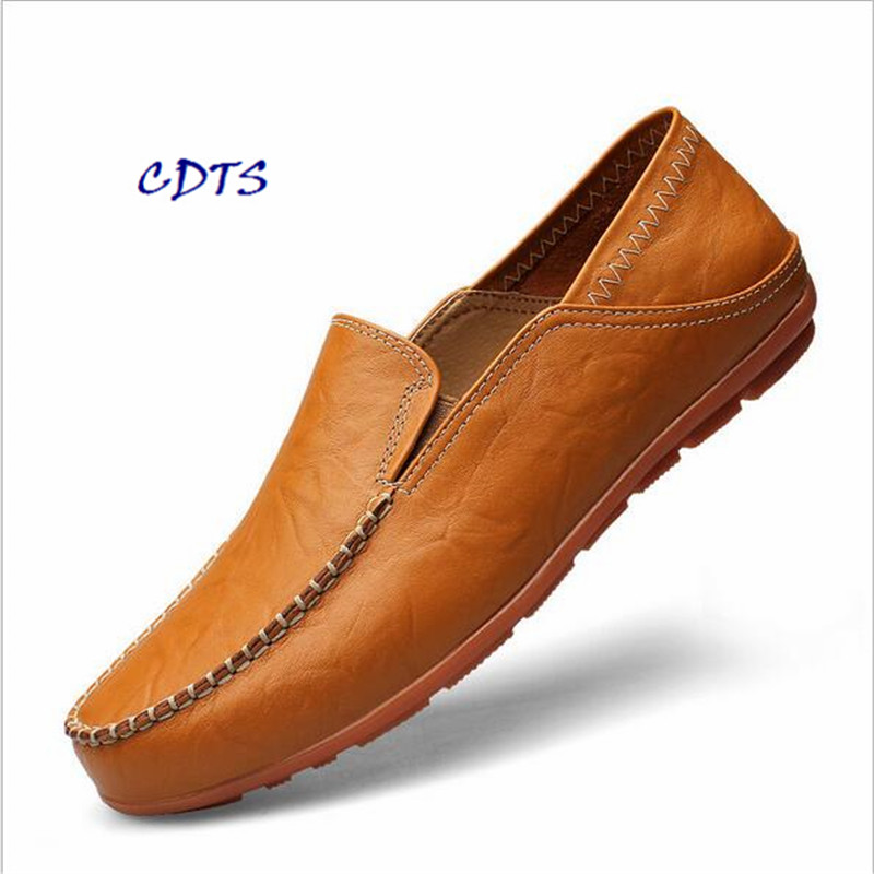 ФОТО CDTS 2016 Spring/Autumn Lace-Up Men's shoes Breathable Casual Flats  Printing genuine leather shoes plus size: 37-45 46