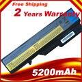 5200mAh 6Cell Laptop Battery for Lenovo IdeaPad G460 G470 G560 G570 B470  B570 V470 V300 V370 Z370 Z460 Z470 Z560 Z570