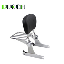 RUOCH For Harley Dyna Detachable Sissy Bar Backrest for Super Glide FXD Low Rider FXDL  2006-2017 Motorcycle Accessories
