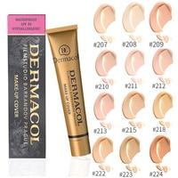 Dermacol макияж крышка Аутентичные 100% 30 г праймер корректор база Professional Уход за кожей лица Dermacol Палитра для контурной основы макияжа
