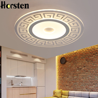 Horsten Remote Control Dimmable Modern Ceiling Lamp Dia 45 60 80cm LED Ceiling Lights For Bedroom