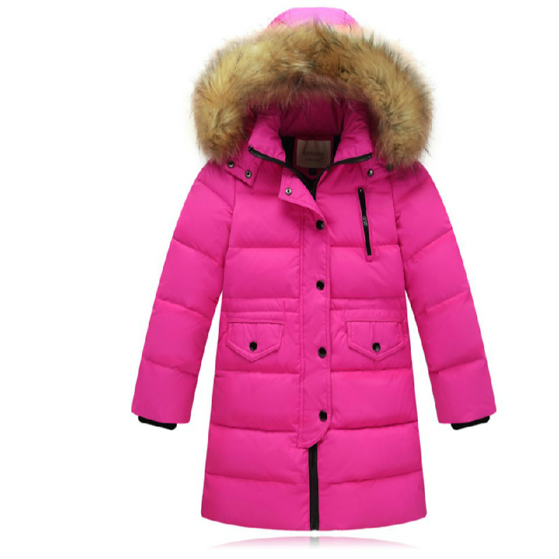 цены Children S Winter Down Jackets for Boys Outer Wear Thicken Clothing Baby Girl Coat Kids Parka Clothes Doudoune Manteau Enfant