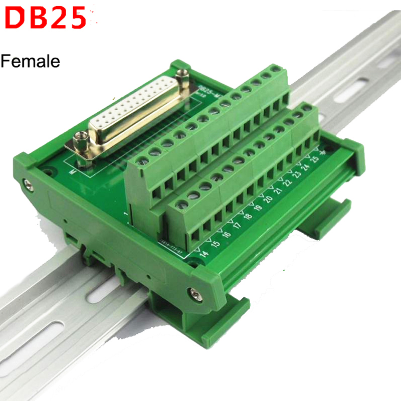 Db25 D Sub 25 Pin Connectors Male Female Socket Terminal