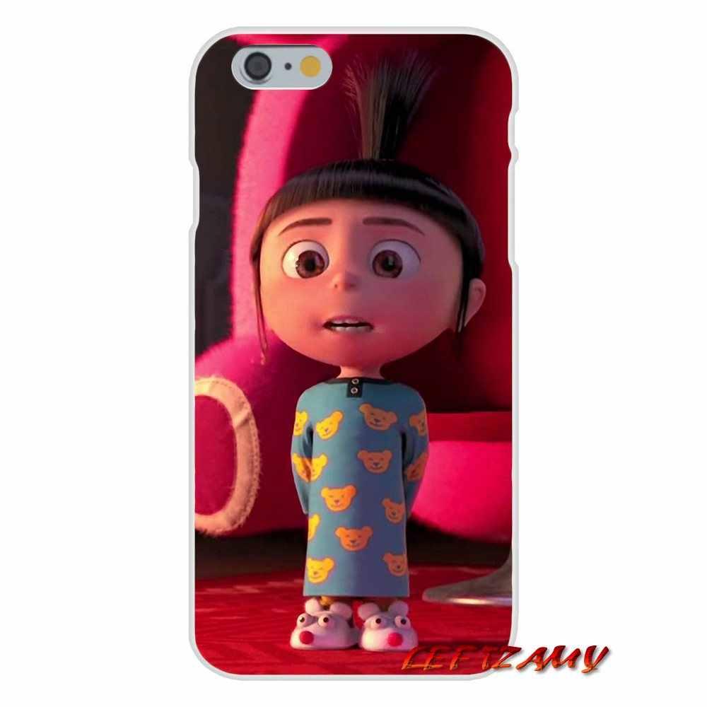Миньонами мой Единорог Агнес для iPhone X XR XS MAX 4 4S 5 5S 5C SE 6 6 S 7 8 плюс аксессуары для телефона чехлы