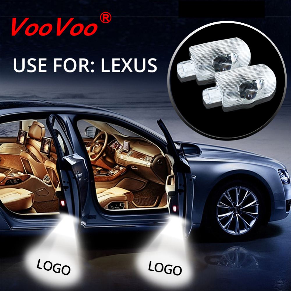 Aliexpress.com : Buy VooVoo 2Pcs Car LED Door Lights Projector Door Shadow  Light Logo Welcome Lamp 12V For Lexus ES GS GX IS LS LX570 RX Easy Install  from ...