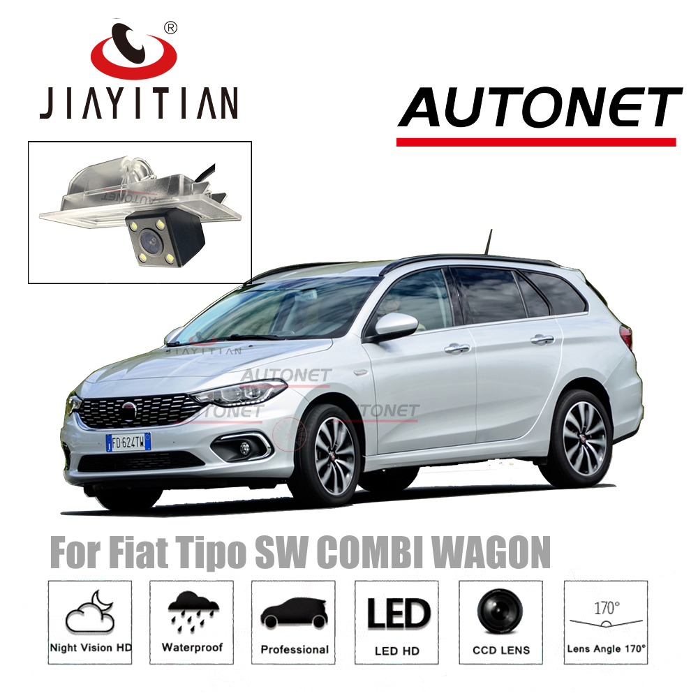 JIAYITIAN Rear Camera For Fiat Tipo TIPO Fiat Egea 2015~2018 CCD Night Vision Reverse Camera license plate camera backup camera цена