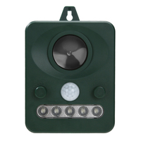 Solar Power 45MA HZ Outdoor Use Solar Ultrasonic Dog Cat Animal Repeller Chaser Battery Operated